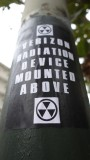 Verizon Radiation Device Mounted Above
