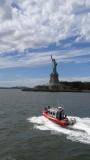 Lady Liberty has an Escort