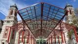 Ellis Island Visitor Center Entryway