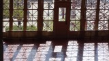 Ellis Island Visitor Center Shadows