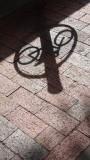 Philadelphia Bike Rack Shadow