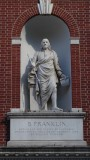 American Philosophical Society Museum Benjamin Franklin Statue