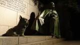 Franklin Delano Roosevelt Memorial at night
