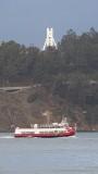 Red and White Ferry, Treasure Island, Eastern Bay Bridge Tower