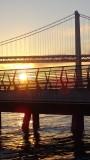 Pier 14 Bay Bridge Sunrise