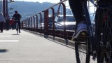 Biking over the Golden Gate Bridge