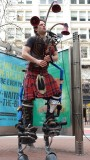 Electronic Street Bagpiper