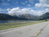 Bottom of independence pass