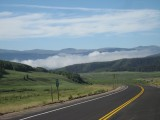 Cloud on hwy 149 at 9k ft