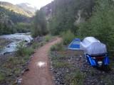 Camping in Lake City