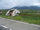 RV owner had a bad day