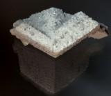 8 cm flanged calcite twin from Santa Eulalia, Mun. de Aquiles Serdan, Chihuahua, Mexico.