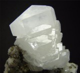 Calcite crystals from Rotherhope Fell, Cumbria, UK. 67mm specimen found 1922.