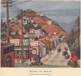 Almost any suburb, a watercolour by Jan Gordon