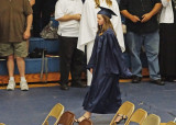 GRADUATION  -  GRANDDAUGHTER MIRI  -  ISO 3200  -  TAKEN, HAND-HELD, WITH A MANUAL FOCUS TAMRON SP 90mm f/2.5 LEGACY LENS