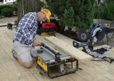 CUTTING SOME SMALLER FILL-IN  DECK PLANKS