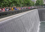 WE WENT TO THE 9/11 MEMORIAL  -  A VERY SAD VISIT, ESPECIALLY FOR THOSE OF US WHO LOST FRIENDS IN THE ATTACKS THAT DAY