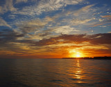 DESTIN, FLORIDA SUNSET  -  TAKEN WITH A SONY/ZEISS 24mm F/1.8 E-MOUNT LENS