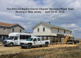 SUPER STORM SANDY DISASTER RECOVERY/RELIEF WORK IN NEW JERSEY
