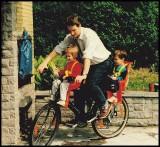 Le vélo c'est pratique.