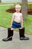 1992 - David in Boots