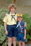 1992 - Ginny and Robert in full dress uniform