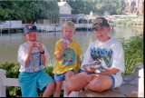 1992 - Ice cream break at Disney World