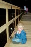 1991 - David fishing at Martin Dies State Park