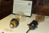 First Edison public demonstration lightbulb (R)