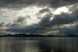 Cool clouds and sun at Wrangell