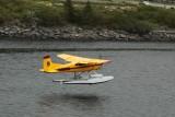 Float plane departing Ketchikan