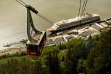 Mt. Roberts tramway in Juneau