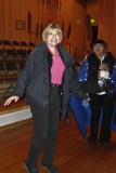 Ginny joins the Native Alaskan dancers