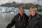 At Margerie Glacier in Glacier Bay