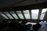 View from our stateroom on the Alaskan Dream