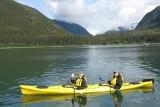 Kayaking in Taku Bay