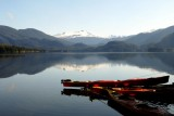 Calm waters of Hobart Bay