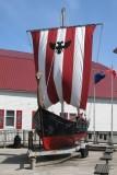 Viking ship at Sons of Norway in Petersburg