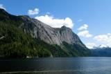 Glacier carved walls in Misty Fjords