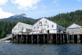 Long defunct Libby cannery in Ketchikan