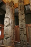 At the Totem Heritage Center in Ketchikan