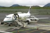 B-737 Combi - half freight, half passengers