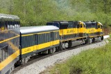 Alaska Railroad on the Seward line