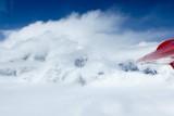 Airborne view of Mt. McKinley