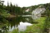 Horseshoe Lake in Denali
