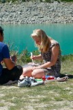 Picnic at Lake Tekapo, NZ