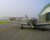 My Airplanes on a Foggy Morning