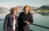 1974 - On our honeymoon in Glacier Bay, Alaska