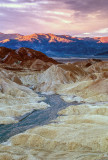 First light at Zabriskie Point.
