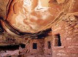 Fallen ceiling, Road Canyon Ruin, Cedar Mesa, UT